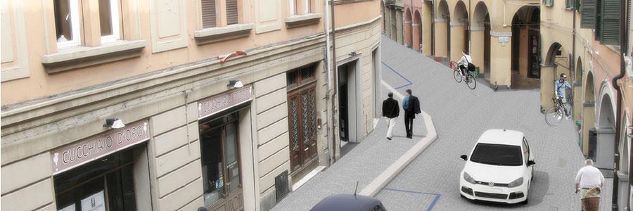 Il progetto di riqualificazione di Via Petroni