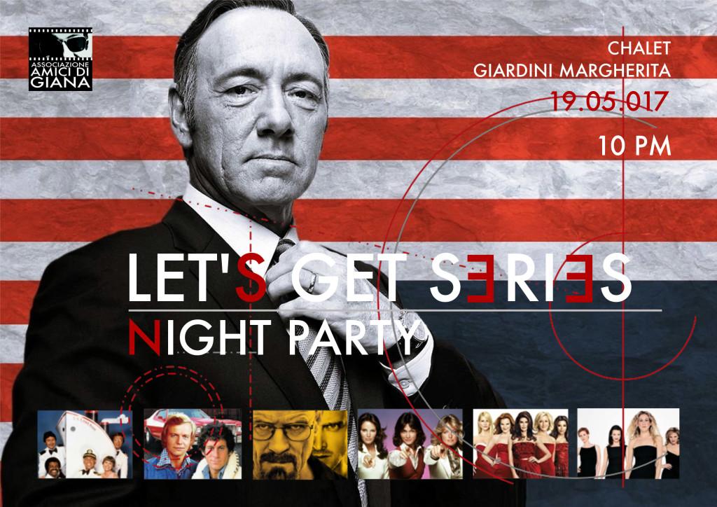 Let's Get Series, la festa delle serie TV allo Chalet dei Giardini Margherita