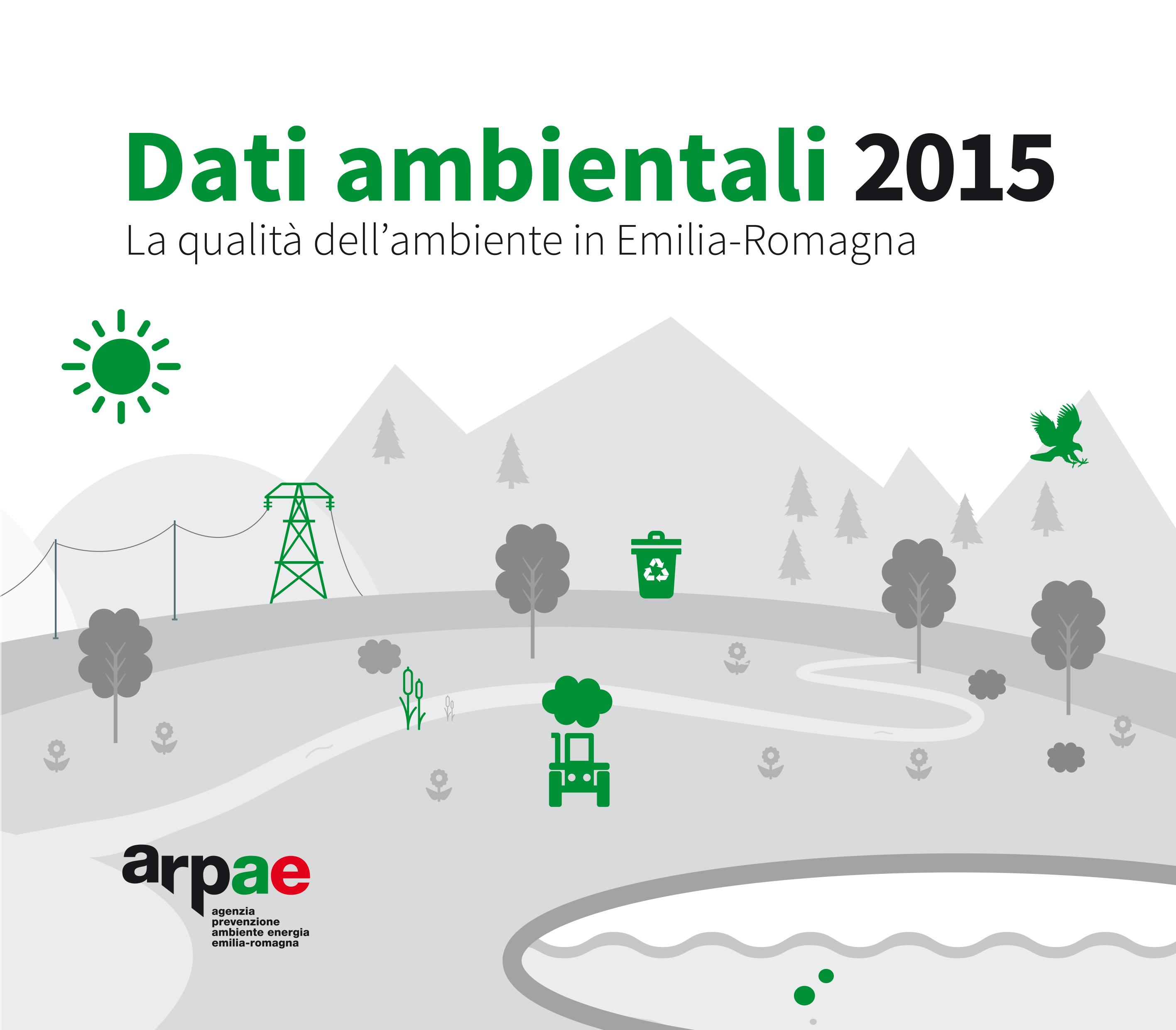 Online l'annuario dei Dati Ambientali 2015 di Arpae Emilia-Romagna